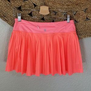 Lululemon pleat to street skirt Size 6